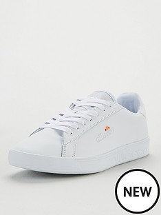 ellesse-campo-emb-leather-whitenbsp