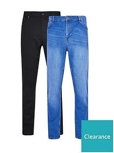 burton-menswear-london-2-pack-skinny-jeans-blueblack