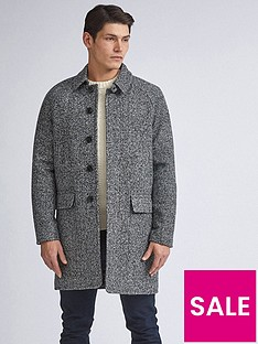 burton-menswear-london-grindle-car-coat-grey