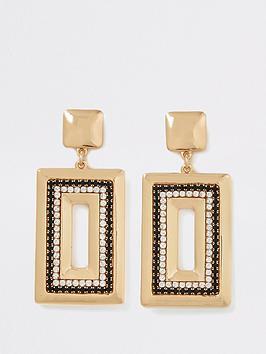 river-island-black-amp-gold-rectangle-drop-earrings-gold