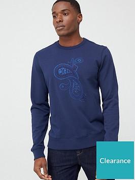 pretty-green-marshall-paisley-logo-sweatshirt-navynbsp