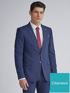 burton-menswear-london-highlight-check-skinny-fit-suit-jacket-navy