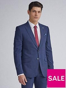burton-menswear-london-highlight-check-skinny-fit-suit-jacket-navy