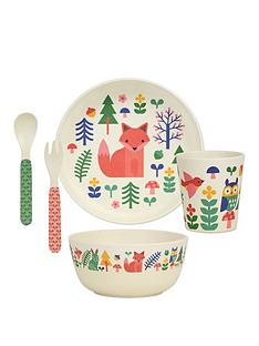 petit-collage-bamboo-baby-dinnerware-set-forest-friends