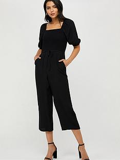 monsoon-fleur-shirred-jumpsuit-black