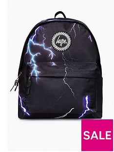hype-boys-lightening-backpack-black
