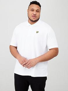 lyle-scott-big-amp-tall-plain-polo-shirt-white
