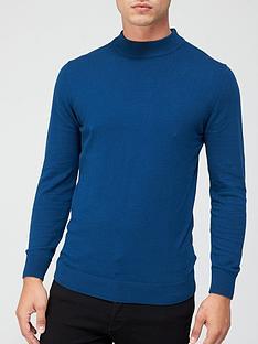 very-man-turtle-neck-jumper-blue