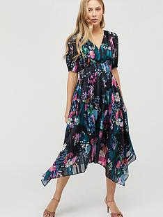 monsoon-penny-print-hanky-hem-dress-navynbsp