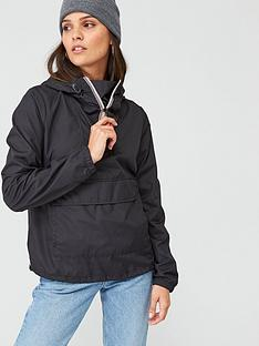 hunter-womens-original-shell-cagoule-black
