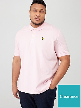 lyle-scott-big-amp-tall-plain-polo-shirt-pink