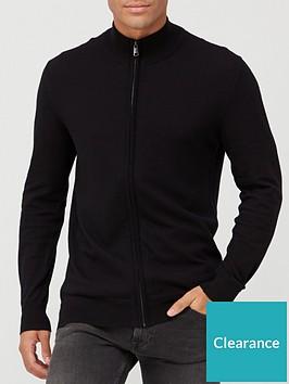 very-man-zip-through-jumper-black