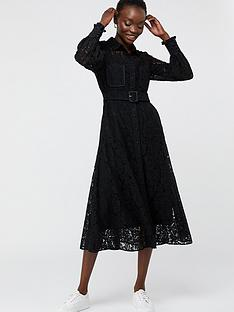 monsoon-yvie-lace-shirt-dress-black