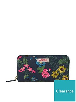 cath-kidston-twilight-garden-continental-zip-wallet-navy