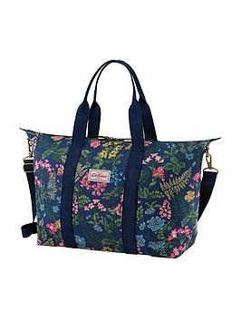 cath-kidston-twilight-garden-foldaway-overnight-bag-navy
