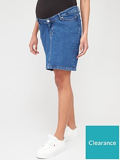 v-by-very-maternity-denim-skirt-dark-wash