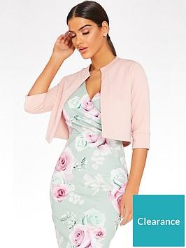 quiz-marcella-crop-sleeve-crop-jacket-blush-pinknbsp