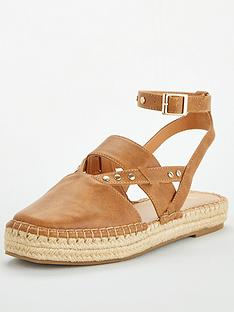 v-by-very-maha-ankle-strap-2-part-chunky-espadrille-tan