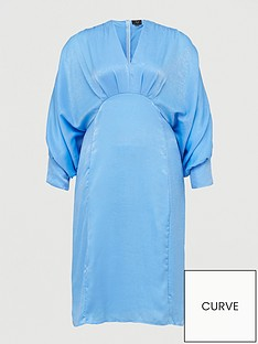ax-paris-batwing-dress-blue