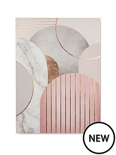 graham-brown-pink-amp-grey-art-deco-canvas-wall-art