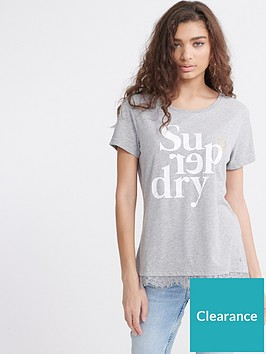 superdry-tilly-lace-graphic-tee-grey-marl