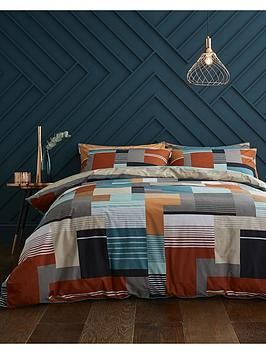 content-by-terence-conran-horizon-100-cotton-duvet-cover-set
