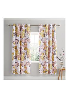 catherine-lansfield-elina-floral-eyelet-curtains