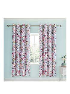 catherine-lansfield-flower-patchwork-eyelet-curtains