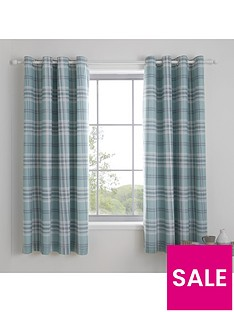 catherine-lansfield-kelso-eyelet-curtains