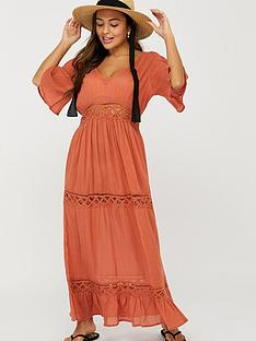 accessorize-lace-insert-sleeved-maxi-dress-brownnbsp