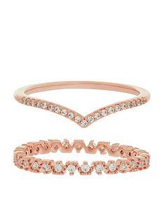 accessorize-z-x2-wishbone-sparkle-ring-set-rose-gold