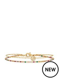 accessorize-z-rainbow-layer-bracelet