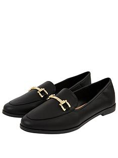accessorize-metal-detail-loafer-s-black