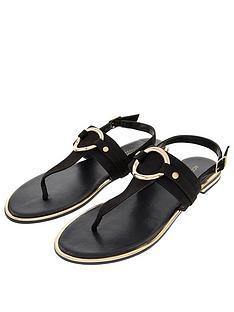 accessorize-ring-detail-sandals-black