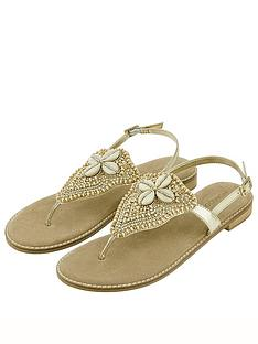 monsoon-sheila-shell-embellished-toe-post-sandals-gold