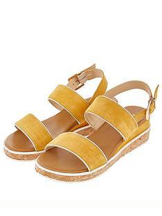 prod1089513946: Frida Flatform Sandals - Ochre