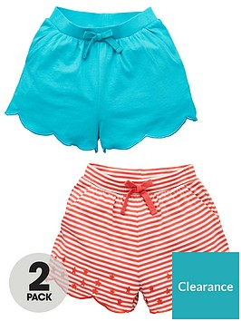 v-by-very-girls-2-pack-embroidered-and-stripe-shorts