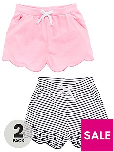 v-by-very-girls-embroidered-2-pack-shorts-multi
