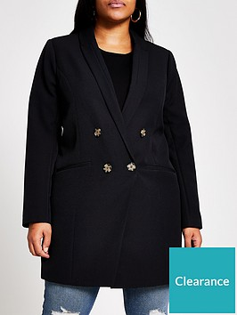 ri-plus-longline-blazer-black