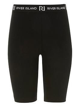 river-island-girls-waistband-cycling-shorts--nbspblack