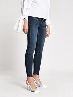 river-island-river-island-maternity-over-bump-molly-jegging-dark-blue