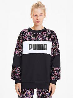 puma-graphic-crew-sweatshirt--nbspnbspblacknbsp