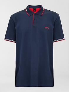 boss-paul-curved-logo-tipped-collar-polo-shirt-navy