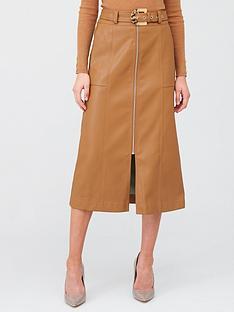 river-island-river-island-zip-through-belted-midi-skirt