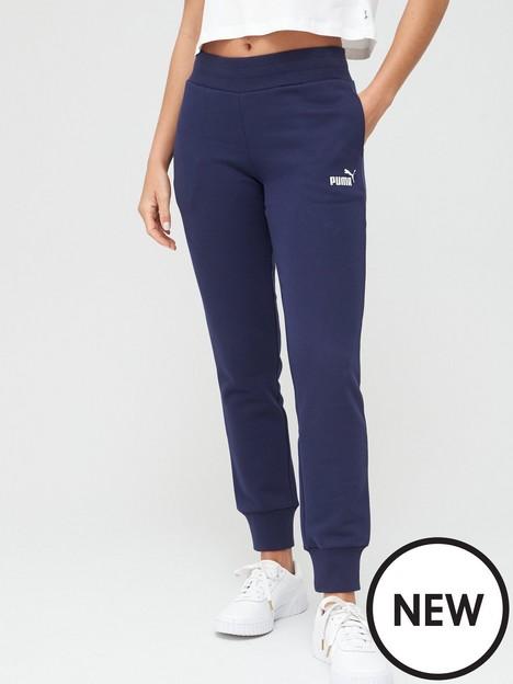 puma-essential-fleece-sweat-pants-navynbspbr