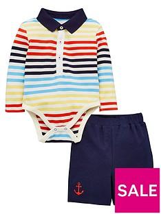 v-by-very-baby-boys-short-sleeve-stripe-polo-bodysuit-and-short-set-multi