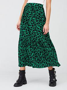 river-island-river-island-printed-tiered-jersey-midaxi-skirt
