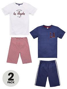 v-by-very-palm-2-pack-boys-pyjamas-multi