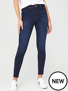 river-island-kaia-mykonos-high-rise-jegging-blue