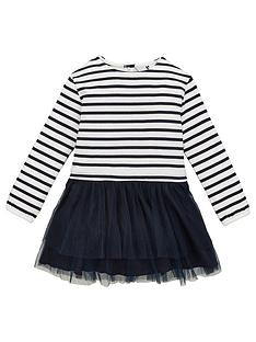 v-by-very-long-sleevenbspstripe-2-in-1-mesh-dress-navy